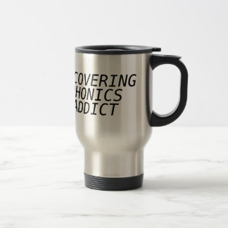 Recovering Phonic Addict Mugs