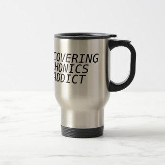 Recovering Phonic Addict Mugs