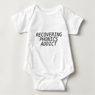 Recovering Phonic Addict T Shirt