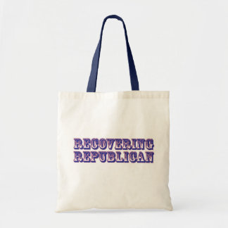 Recovering Republican Budget Tote Bag