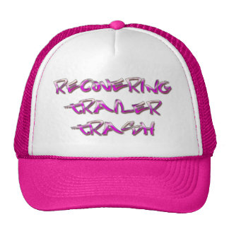 Recovering Trailer Trash Mesh Hat