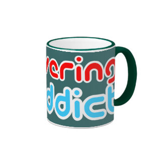 Recovering Twaddict Ringer Mug