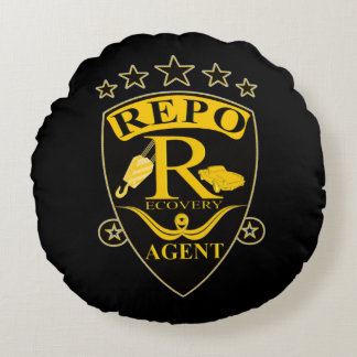 Recovery Agent Round Pillow