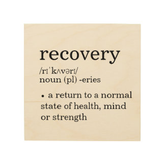 recovery definition clean sober 12 step home decor