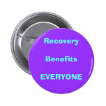 recovery, drug, sober buttons