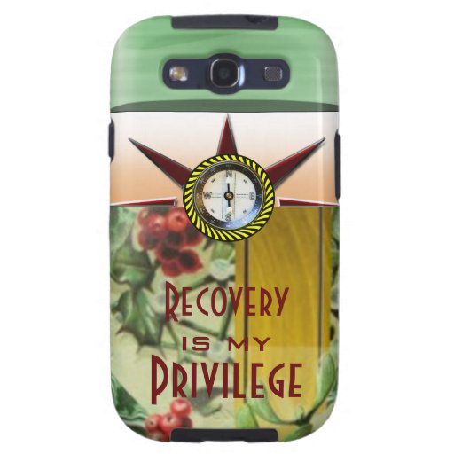 Recovery is my privilege galaxy SIII covers