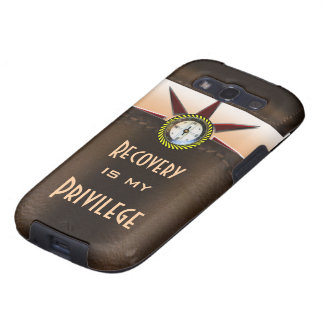 Recovery is my privilege galaxy s3 covers