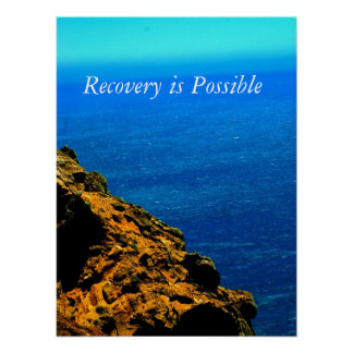 Recovery is possible Poster