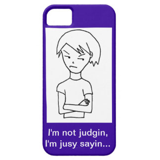 Recovery Judgin iPhone 5 Case