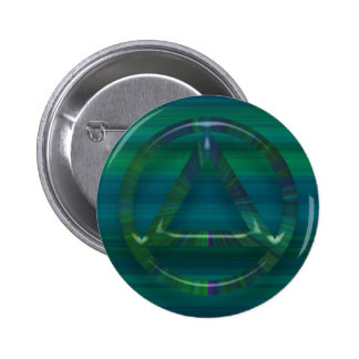 Recovery Sobriety Sober AA Button Pin