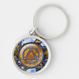 Recovery Sobriety Sober Keychain (Key Chain)