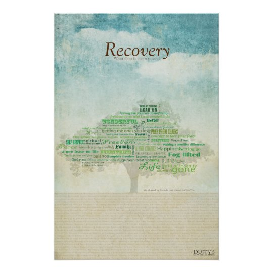 Recovery Tree Poster