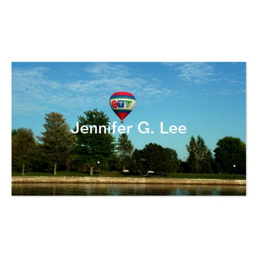 Recreation business cards, riverside business cards