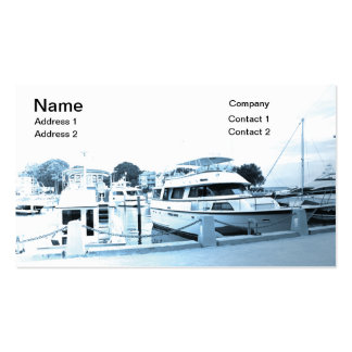 recreational boats in Hilton Head South Carolina Pack Of Standard Business Cards
