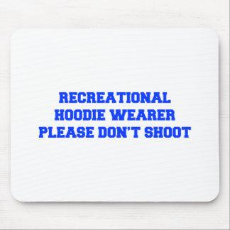 Recrecational-Hoodie-Wearer-fresh-blue.png Mouse Pad