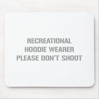 Recrecational-Hoodie-Wearer-gun-gray.png Mouse Pad