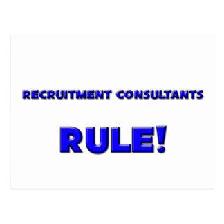 Recruitment Consultants Rule! Postcard