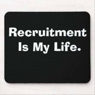 motivational recruitment mousepad