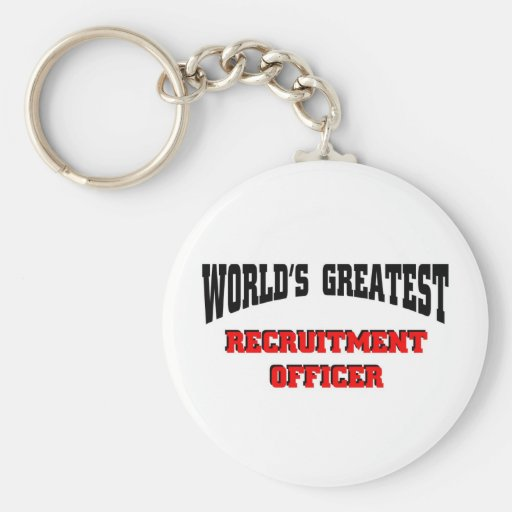 Recruitment Officer Key Chains
