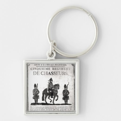 Recruitment poster for the Fifth Regiment Keychain