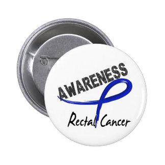 Rectal Cancer Awareness 3 6 Cm Round Badge