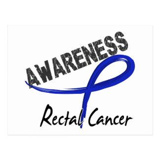 Rectal Cancer Awareness 3 Postcard