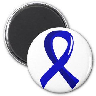 Rectal Cancer Blue Ribbon 3 6 Cm Round Magnet