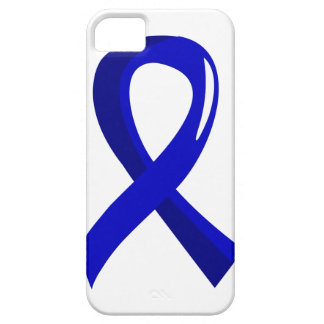 Rectal Cancer Blue Ribbon 3 Barely There iPhone 5 Case