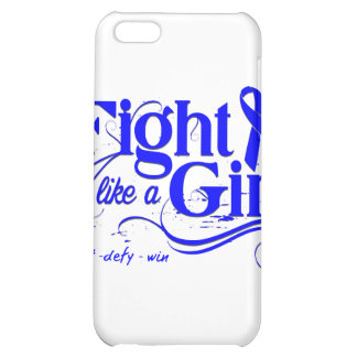 Rectal Cancer Fight Like A Girl Elegant iPhone 5C Cover