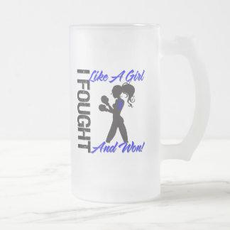 Rectal Cancer I Fought Like A Girl and Won Coffee Mugs
