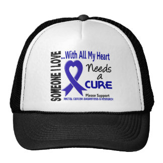 Rectal Cancer Needs A Cure 3 Mesh Hat