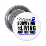 Rectal Cancer Not Just Surviving But Living Button