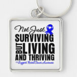 Rectal Cancer Not Just Surviving But Living Key Chains