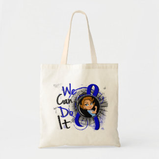 Rectal Cancer Rosie Cartoon WCDI.png Budget Tote Bag