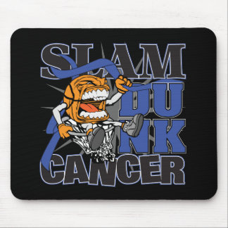 Rectal Cancer - Slam Dunk Cancer Mouse Pad