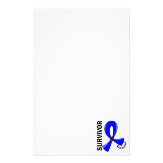 Rectal Cancer Survivor 12 Personalized Stationery