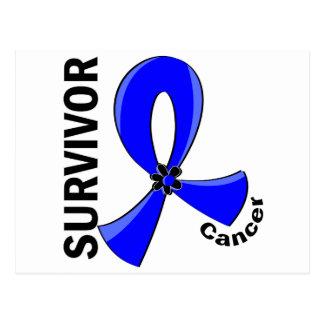 Rectal Cancer Survivor 12 Postcard