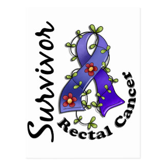 Rectal Cancer Survivor 15 Postcard