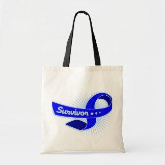 Rectal Cancer Survivor Ribbon Bag