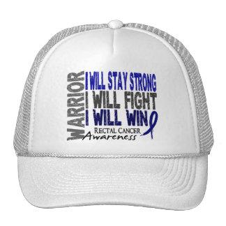 Rectal Cancer Warrior Cap