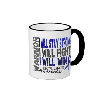 Rectal Cancer Warrior Coffee Mug
