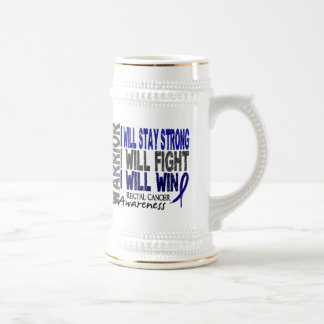 Rectal Cancer Warrior Mug