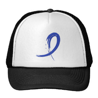 Rectal Cancer's Blue Ribbon A4 Hats