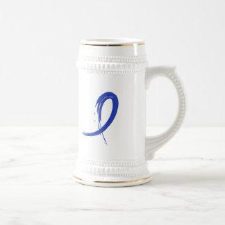 Rectal Cancer's Blue Ribbon A4 Mug