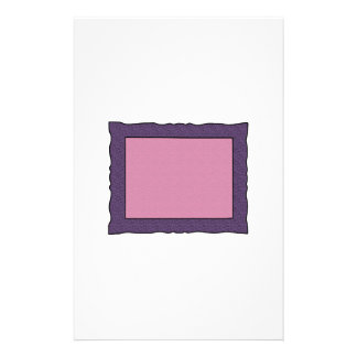 Rectangle Swirly Frame Stationery Paper