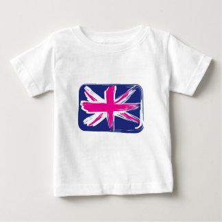 Rectangle Union Jack Flag Infant Tee Shirt
