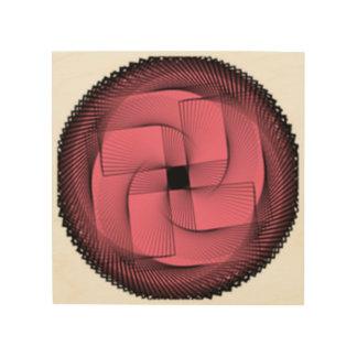 rectangle wood print