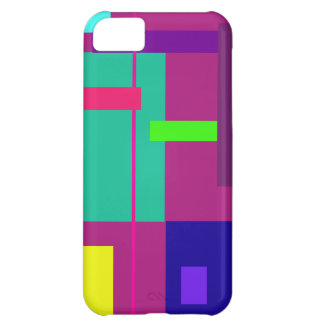 Rectangles iPhone 5C Case