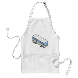 Rectangular bus standard apron