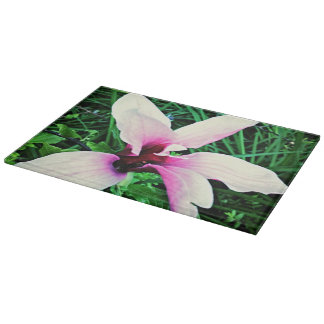 Rectangular Lily Chopping Board